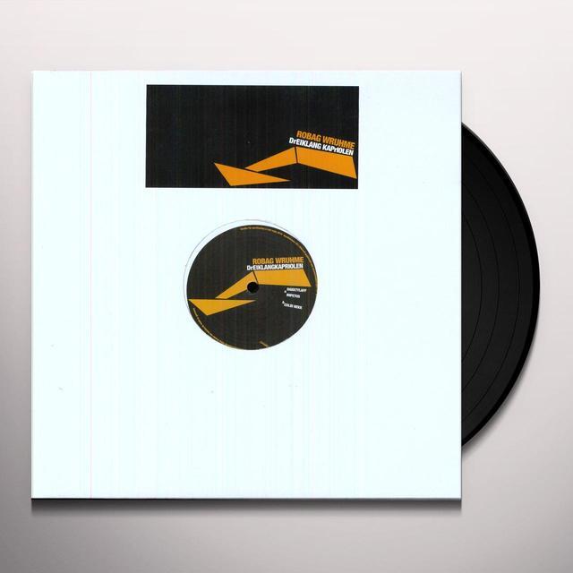 Robag Wruhme DREIKLANGKRAPRIOLEN Vinyl Record