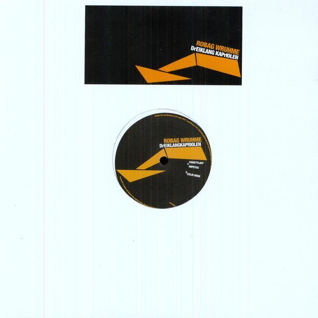 Robag Wruhme DREIKLANGKRAPRIOLEN (EP) Vinyl Record