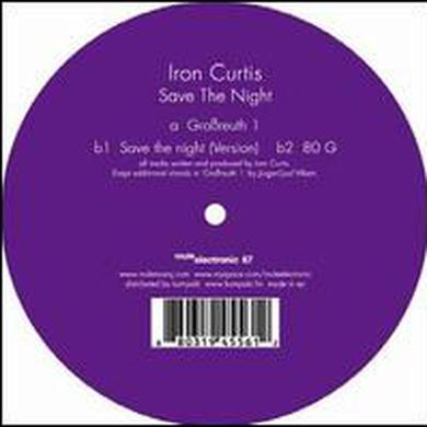 Iron Curtis WAY BACK HOME Vinyl Record