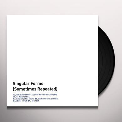 Sylvain Chauveau SINGULAR FORMS (SOMETIMES REPEATED) Vinyl Record