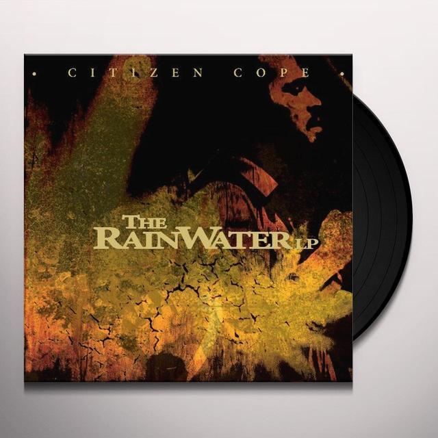 Citizen Cope RAINWATER LP Vinyl Record