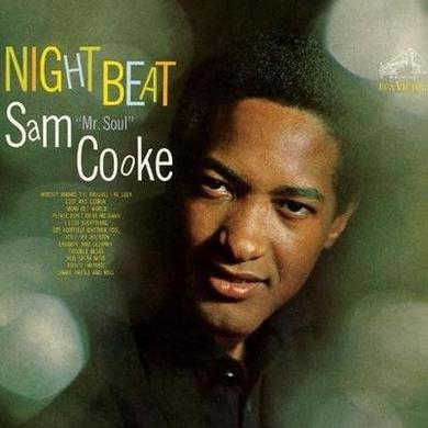 Sam Cooke NIGHT BEAT Vinyl Record - 180 Gram Pressing