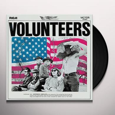 Jefferson Airplane VOLUNTEERS Vinyl Record - 180 Gram Pressing