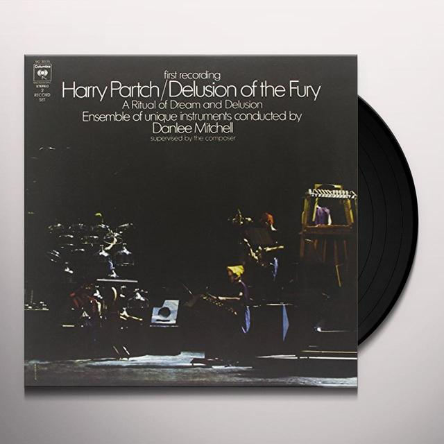 Harry Partch DELUSION OF THE FURY Vinyl Record