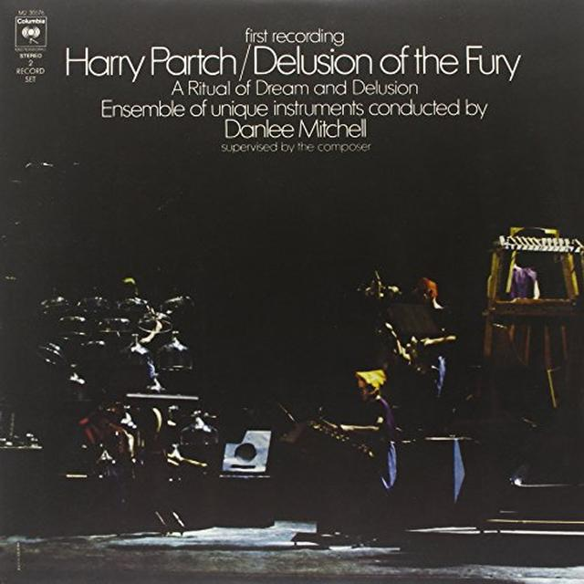 Harry Partch DELUSION OF THE FURY Vinyl Record - 180 Gram Pressing