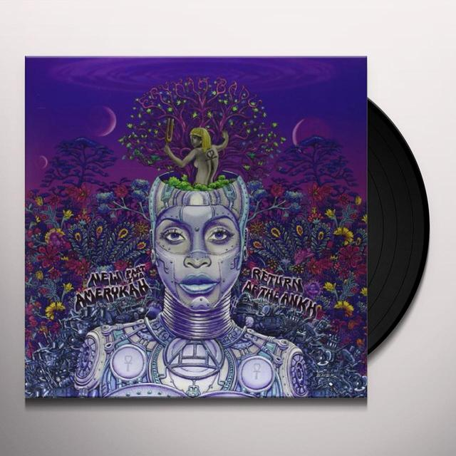 Erykah Badu NEW AMERYKAH PART TWO: RETURN OF THE ANKH Vinyl Record