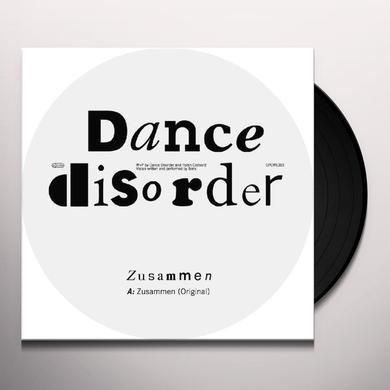 Dance Disorder ZUSAMMEN (EP) Vinyl Record