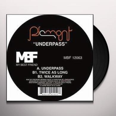 Piemont UNDERPASS (EP) Vinyl Record
