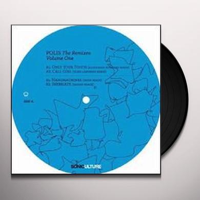 Billy Dalessandro POLIS: REMIXES 2 (EP) Vinyl Record