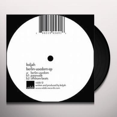 Koljah BERLIN-USEDOM (EP) Vinyl Record