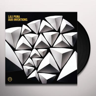 Lali Puna OUR INVENTIONS Vinyl Record