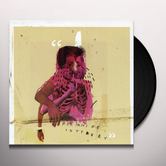 Red Knife Lottery HIP BRUISERS Vinyl Record