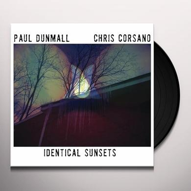 Paul Dunmall / Chris Corsano IDENTICAL SUNSETS Vinyl Record