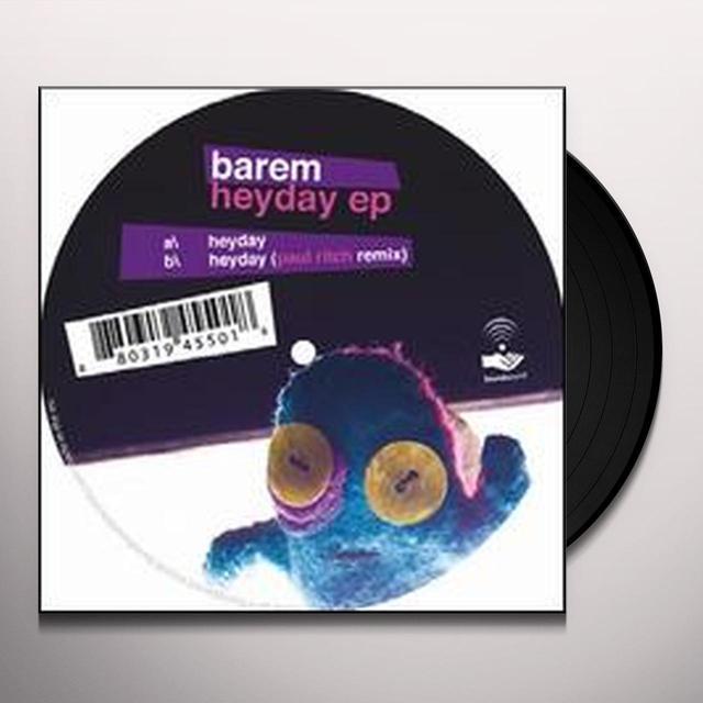 Barem HEYDAY (EP) Vinyl Record