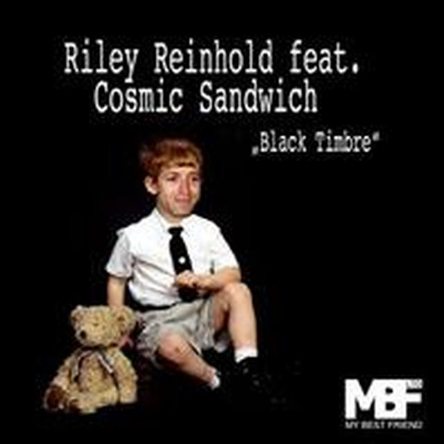 Riley Reinhold BLACK TIMBRE (EP) Vinyl Record