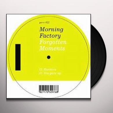Morning Factory FORGOTTEN MOMENTS (EP) Vinyl Record