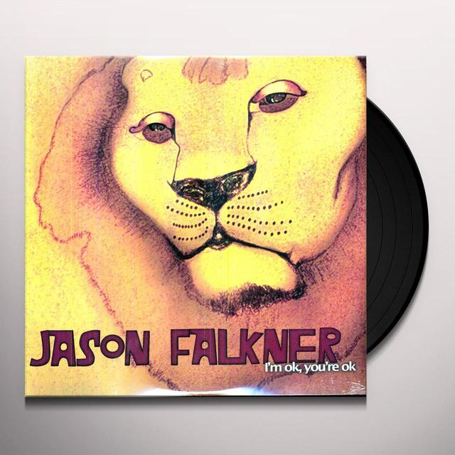Jason Falkner I'M OK YOU'RE OK Vinyl Record