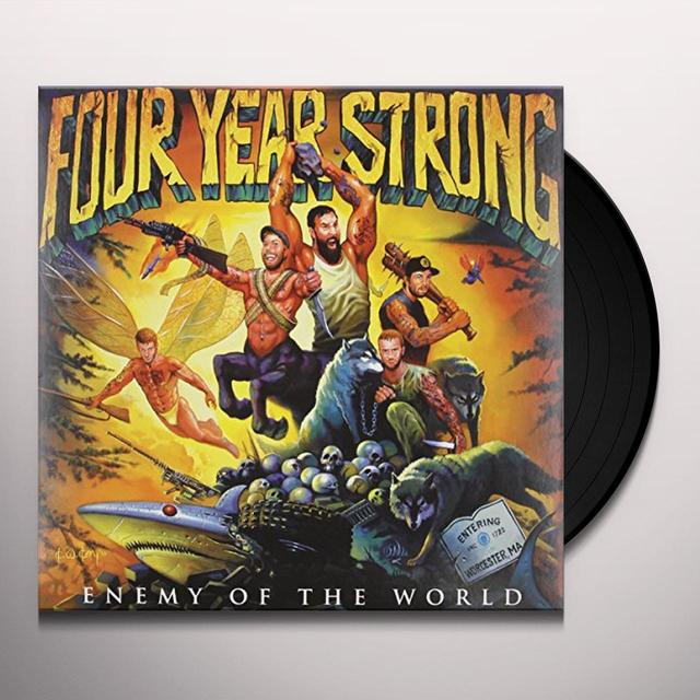 Four Year Strong ENEMY OF THE WORLD Vinyl Record