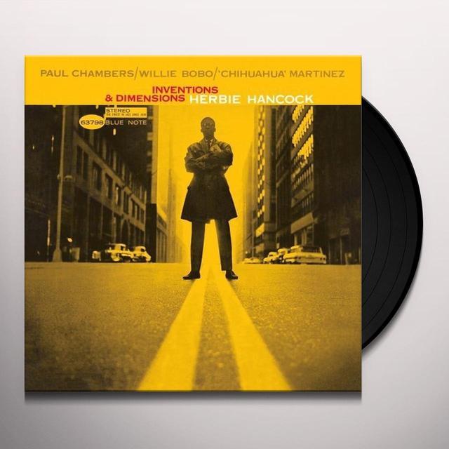 Herbie Hancock INVENTIONS & DIMENSIONS Vinyl Record