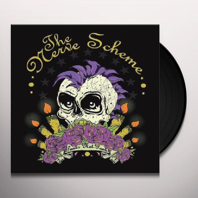 Nerve Scheme PUNKS NOT PUNK Vinyl Record