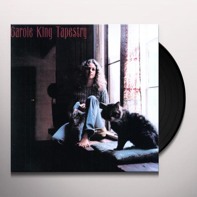 Carole King TAPESTRY Vinyl Record - Holland Import