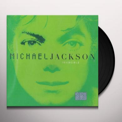 Michael Jackson INVINCIBLE Vinyl Record