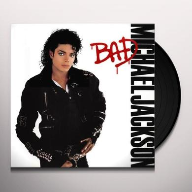Michael Jackson BAD Vinyl Record - Remastered