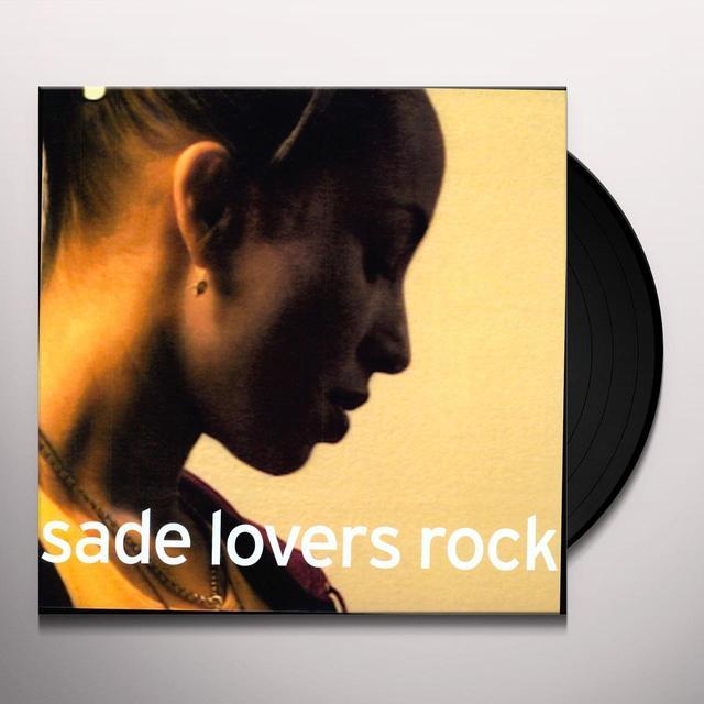 Sade LOVERS ROCK Vinyl Record