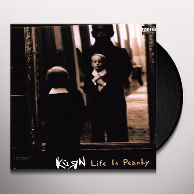 KoRn LIFE IS PEACHY Vinyl Record - 180 Gram Pressing
