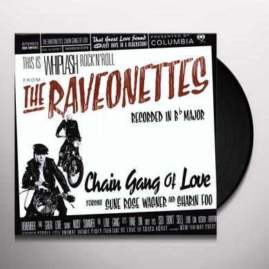 The Raveonettes CHAIN GANG OF LOVE Vinyl Record - 180 Gram Pressing