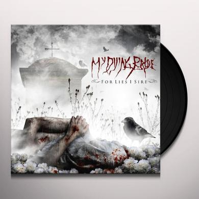 My Dying Bride FOR LIES I SIRE Vinyl Record