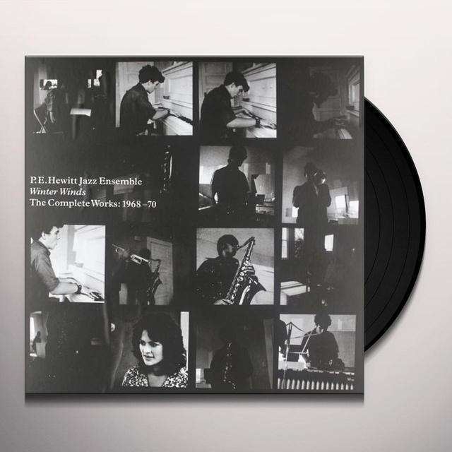 P.E. Hewitt Jazz Ensemble WINTER WINDS Vinyl Record