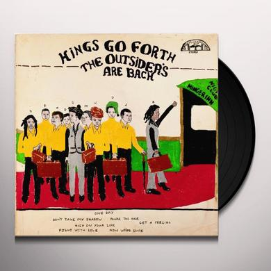 Kings Go Forth OUTSIDERS ARE BACK Vinyl Record
