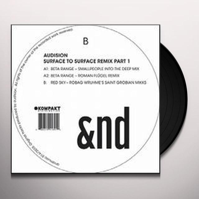 Audision SURFACE TO SURFACE REMIX 1 (EP) Vinyl Record - Remix