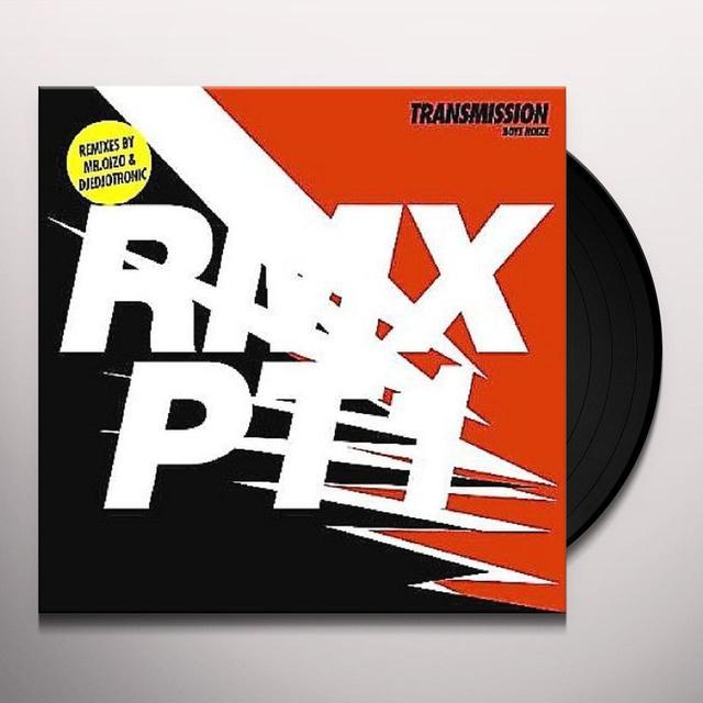 Boys Noize TRANSMISSION RMX 1 (EP) Vinyl Record - Remix