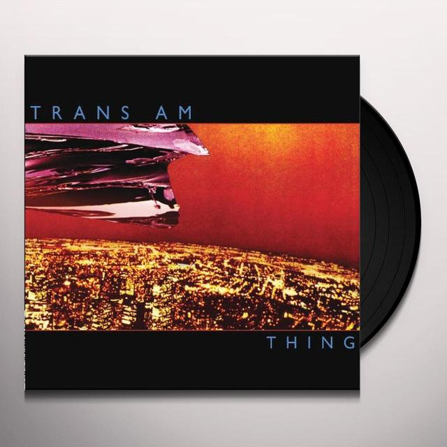 Trans Am THING Vinyl Record