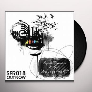 Ryan Crosson YOU'VE GOT ME (EP) Vinyl Record
