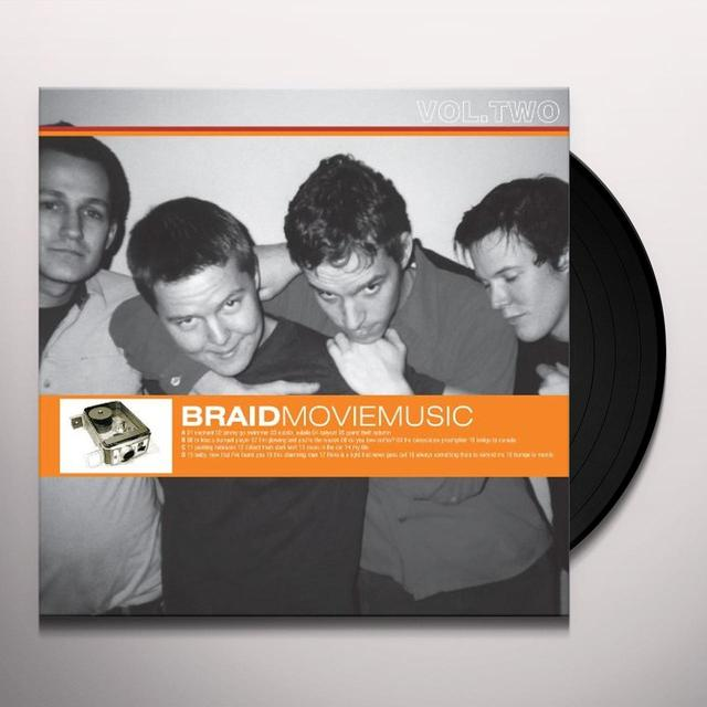 Braid MOVIE MUSIC 2 Vinyl Record