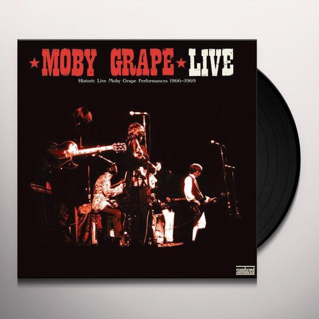 LIVE: HISTORIC LIVE MOBY GRAPE PERFORMANCES 1966 Vinyl Record