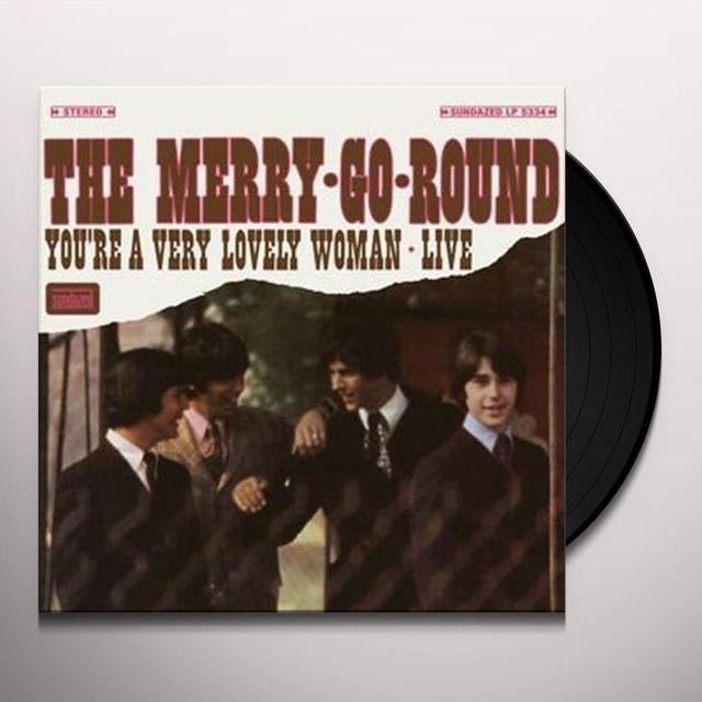The Merry Go Round YOU'RE A VERY LOVELY WOMAN: LIVE Vinyl Record