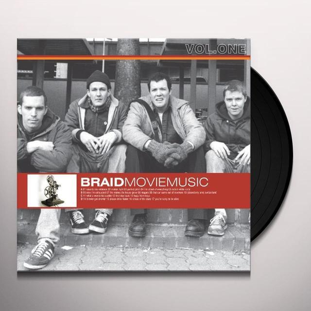 Braid MOVIE MUSIC 1 Vinyl Record - 180 Gram Pressing, Digital Download Included
