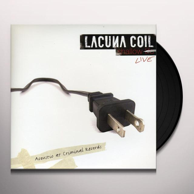 Lacuna Coil SHALLOW LIFE: ACOUSTIC AT CRIMINAL RECORDS Vinyl Record