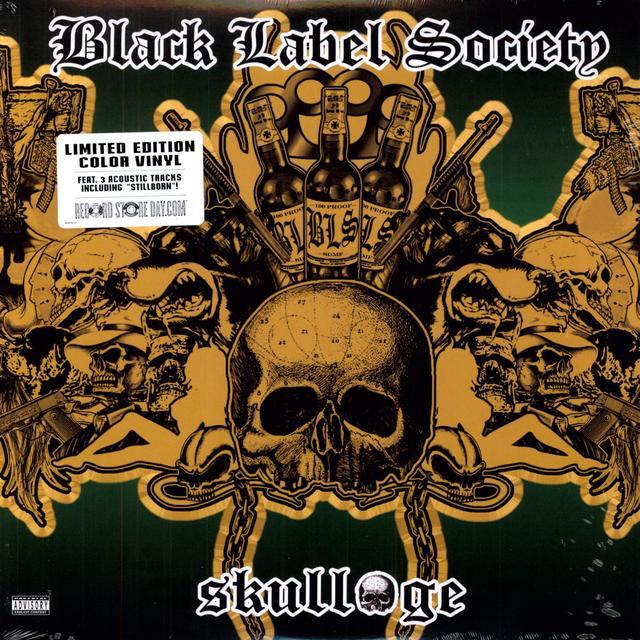 Zakk Wylde (Black Label Society) SKULLAGE Vinyl Record - Limited Edition