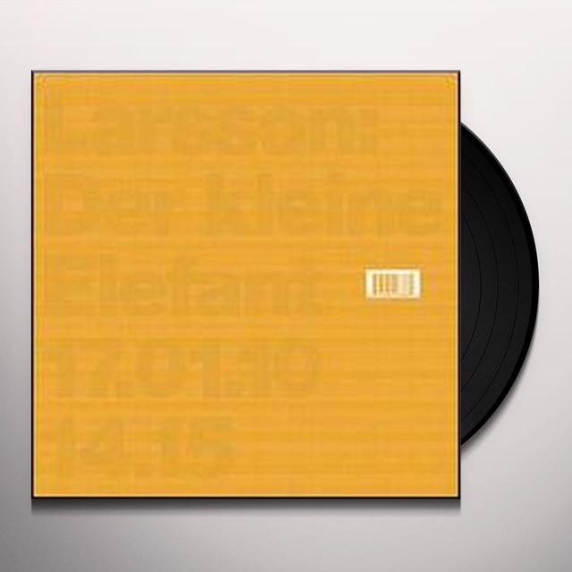 Larsson DER KLEINE ELEFANT (EP) Vinyl Record