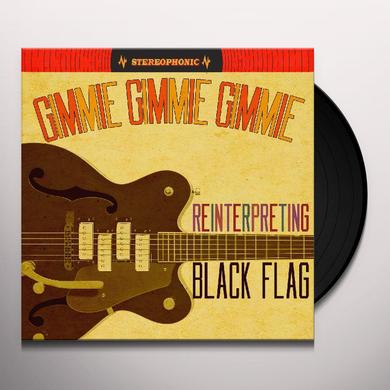 Black Flag Tribute GIMMIE GIMMIE GIMMIE: REINTERPRETING BLACK FLAG Vinyl Record