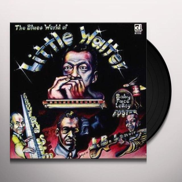 Little Walter / Sunnyland Slim / Jimmy BLUES WORLD OF Vinyl Record - Reissue
