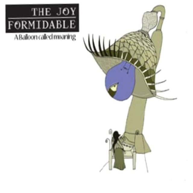 The Joy Formidable BALLOON CALLED MOANING Vinyl Record