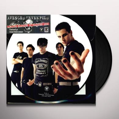 Avenged Sevenfold UNHOLY CONFESSIONS (PICTURE DISC) Vinyl Record - Picture Disc