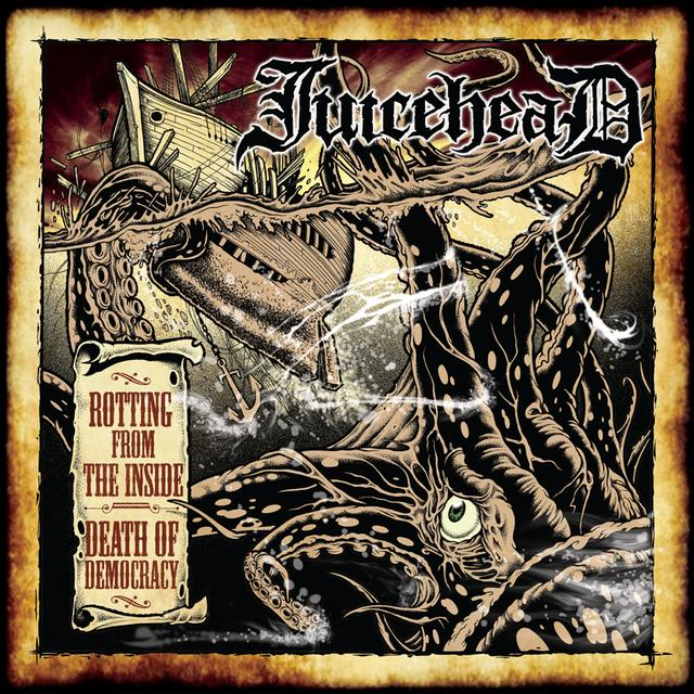 Juicehead ROTTING FROM THE INSIDE / DEATH OF DEMOCRACY Vinyl Record