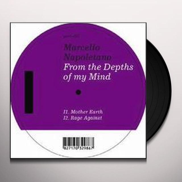 Marcello Napoletano FROM THE DEPTHS OF MY MIND (EP) Vinyl Record